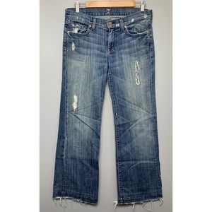 7 FOR ALL MANKIND DOJO Distressed Jeans